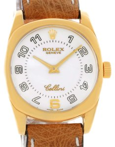 Rolex Rolex Cellini Danaos Small 18K Yellow Gold Watch 6229 Unworn