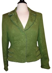 Nipon Boutique Jacket Size 8p Olive Green Blazer