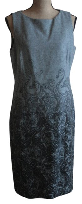 Preload https://img-static.tradesy.com/item/1364826/talbots-grey-with-black-enhancements-knee-length-workoffice-dress-size-10-m-0-0-650-650.jpg