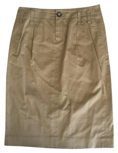Banana Republic Skirt Dark Tan