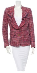 Tory Burch Pink, Blue Blazer