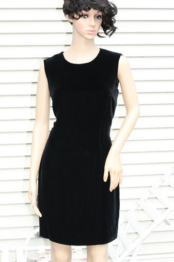 4ca7ab78059 Lord   Taylor Black   Velvet Sheath Dress - 57% Off Retail free shipping