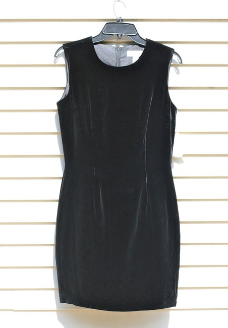 Lord & Taylor Velvet Silk Dress