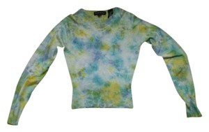 Churchgirl by Ta-ning Cashmere Silk Casual Tye Dye Sweater
