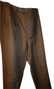 Lauren Ralph Lauren 34r David Beckham. Cuff Relaxed Pants brown