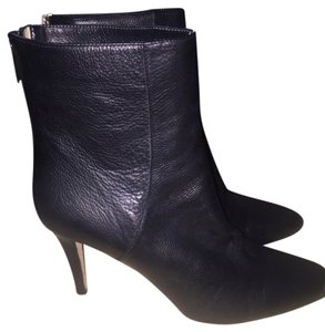 Jimmy Choo Leather Boot Ankle Black Boots