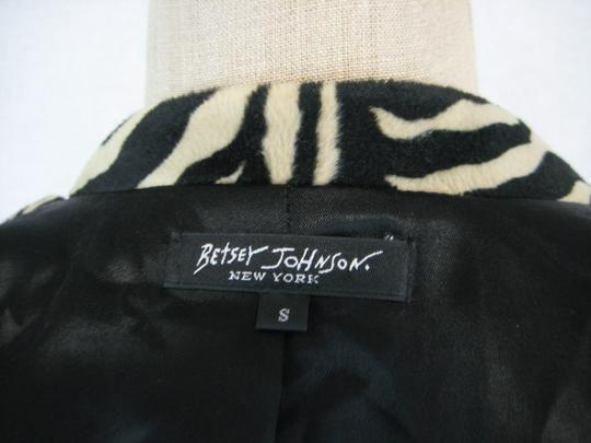 Betsey Johnson Faux Fur Trench Coat outlet