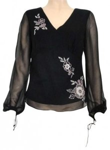 Carole Little Top Black