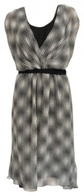 Preload https://img-static.tradesy.com/item/136508/connected-apparel-black-and-white-polka-dots-knee-length-cocktail-dress-size-8-m-0-0-650-650.jpg