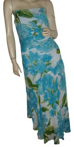 turquoise Maxi Dress by Morrell Maxie