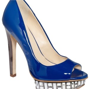 Boutique 9 Royal blue Platforms
