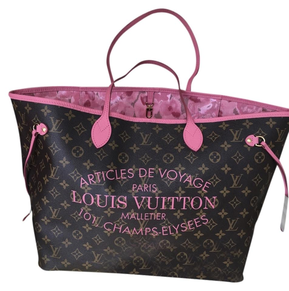 634c890fb3d Louis Vuitton Neverfull Ikat Limited Edition Delightful Artsy Tote Image 0  ...