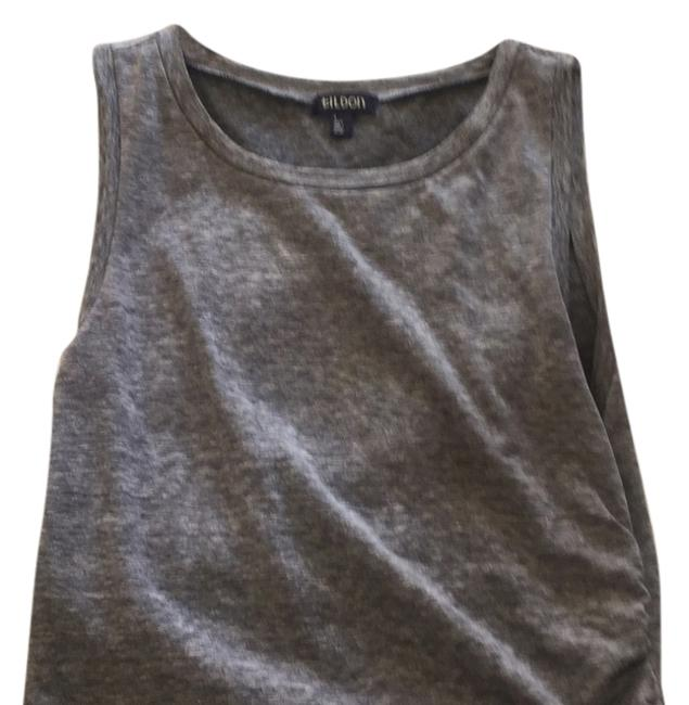 Item - Grey Above Knee Short Casual Dress Size 6 (S)