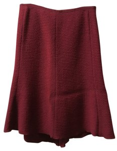 Jigsaw Skirt Red