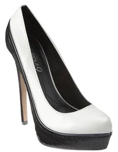 Boutique 9 Black/white Platforms