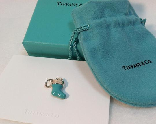 Tiffany & Co. Tiffany & Co blue enamel stocking charm brand new