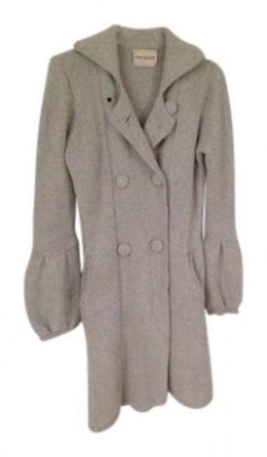 Preload https://item3.tradesy.com/images/light-gray-pure-cashmere-sweater-pea-coat-size-6-s-136522-0-0.jpg?width=400&height=650