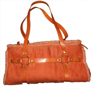 Satchel in BURNT ORANGE