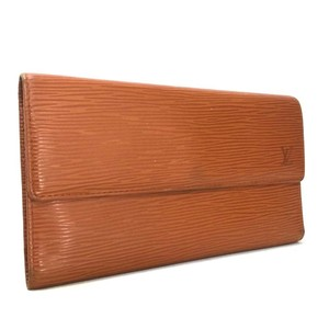 Louis Vuitton Epi Porte Tresor International Trifold Long Wallet -795