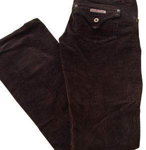 Hudson Jeans Boot Cut Pants Brown