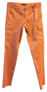 STS Blue Cargo Skinny Pockets Cargo Pants PEACH