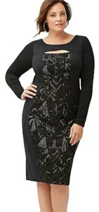 Lane Bryant 20w Plus Size Sqeuin Dress