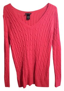 Lane Bryant Cable Knit V-neck Sweater