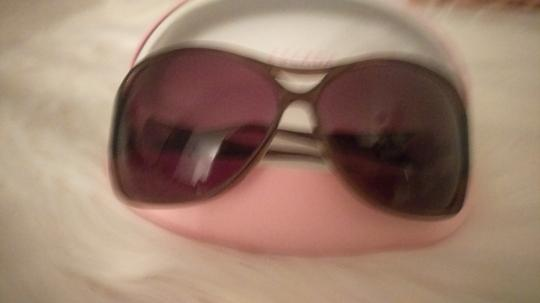 Escada Like new Escada Brown and Gold sunglasses