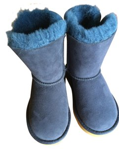 UGG Australia Girls Kids Navy Boots