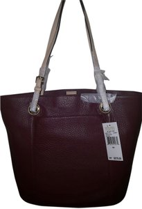 Michael Kors Tote in Burgundy/Wine