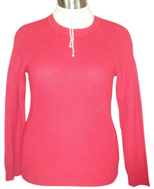 Preload https://item4.tradesy.com/images/karen-scott-red-s-cotton-ribbed-sweaterpullover-size-6-s-1365458-0-0.jpg?width=400&height=650