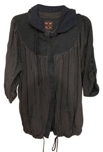 Free People Hooded Spring Sweater