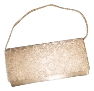 Not Rated Natural/sequin Clutch