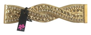 2b bebe NEW! 2b bebe Sara Golden Rhinestone Twist Magnetic Cuff Bracelet SOLD OUT!