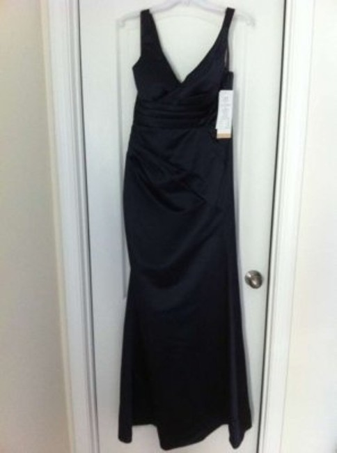 Bill Levkoff 526 New Unworn With Tags Extra Length Satin Dress