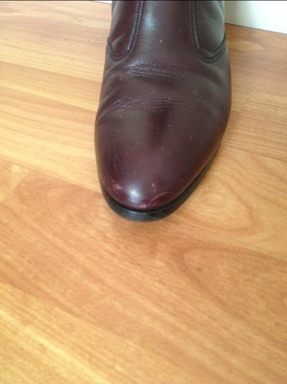 Other maroon Boots