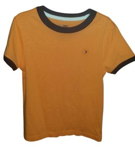 Tommy Hilfiger T Shirt Orange