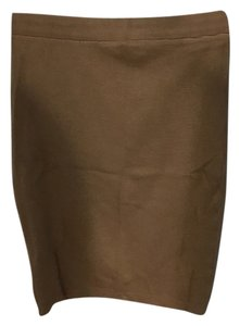American Apparel Pencil Skirt Sand
