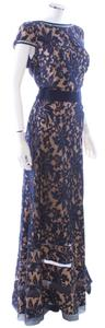 Tadashi Shoji Lace Nude Evening Mermaid Dress