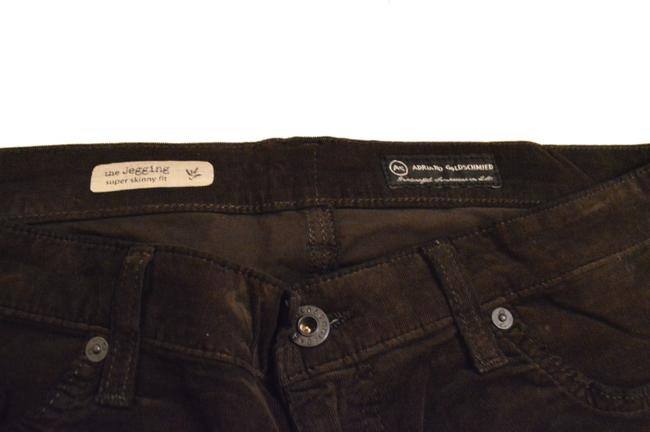 AG Adriano Goldschmied Skinny Pants Brown