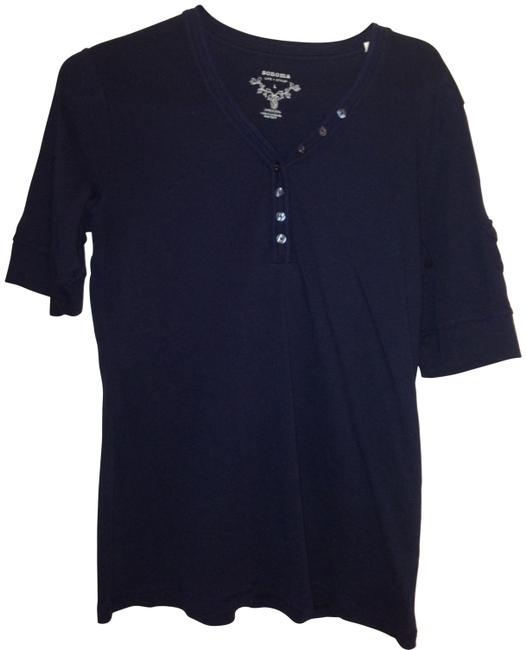 Preload https://item3.tradesy.com/images/sonoma-blue-comfy-cute-tee-blouse-size-14-l-136612-0-0.jpg?width=400&height=650