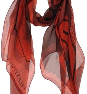 Valentino New Valentino RED Oblong Scaves This item has original tags and shows no visible signs of wear