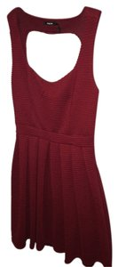 Poetry short dress burgundy/red Burgundy on Tradesy