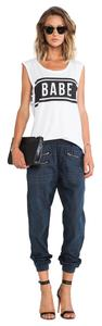 Lovers + Friends Relaxed Fit Jeans-Medium Wash