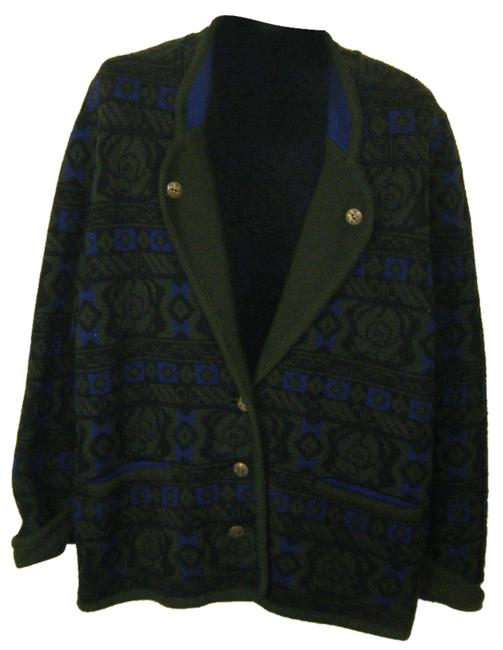 Preload https://img-static.tradesy.com/item/1366349/blue-green-sweater-pure-wool-germany-tirol-size-10-m-0-0-650-650.jpg