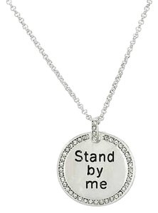 UNIVERSAL LANGUAGE Crystal Stand By Me Necklace Length 30 in. NEW $59