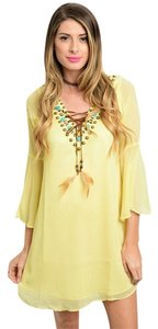 Vava by Joy Han short dress Yellow on Tradesy