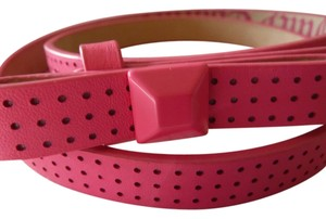 Juicy Couture Pink Bow Belt Size Small