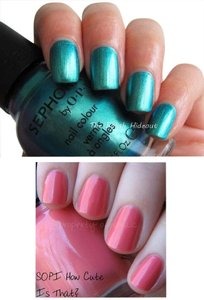 OPI Sephora x O P I MERMAID TO ORDER + HOW CUTE IS THAT?