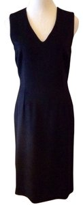 Dolce&Gabbana Vintage Angora Cashmere Sheath Vneck Dress